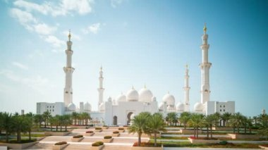 Sheikh Zayed Mosque — Stock Video