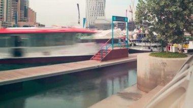 Cityscape dubai marina — Stok video