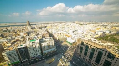 Dubai Deira streets, UAE — Stock Video