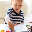 Finger painting — Stock Photo #56215011