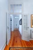 Elegant vintage house interiors hallway — Stock Photo