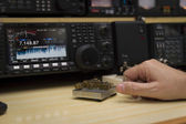 Radio Operator — Stock Photo