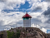 Little lighthouse in Lysekil, Sweden — Stock Photo