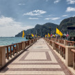 The pier on Phi Phi island in Thailand — Stock Photo #52581941