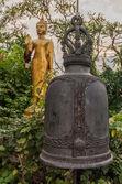 Bell from Golden Mount Temple (Wat Sakate), Bangkok, Thailand — Foto de Stock