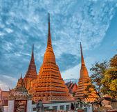 Wat pho tempel in bangkok, thailand — Stockfoto