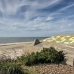 Blaavand beach at the Danish North Sea coast — Stockfoto #54297961