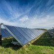 Solar water heating system, great scale — Stockfoto