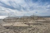Blaavand beach at the Danish North Sea coast — Stock Photo