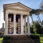 Постер, плакат: Temple of Fortuna Virilis or Temple of Portunus in Rome