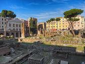 Largo di Torre Argentina in Rome — Stock Photo