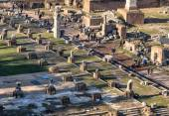 Forum Romanum, Rome, Italy — Stock Photo