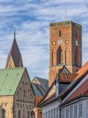 Detail of the cathedral in Ribe, Denmark — Stock Photo