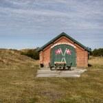 Life saving station on Mando, Denmark — Stock Photo #69886283