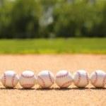 ������, ������: Baseball Balls on Field