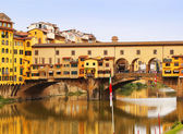 Ponte Vecchio bridge in Florence, Italy. Europe — Stock Photo