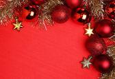 クリスマスの背景. — ストック写真