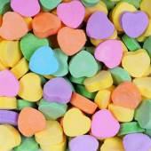 Colorful Hearts background. Sweetheart Candy. Valentines Day — Stock Photo