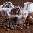 Chocolate muffins — Stock Photo #58419987
