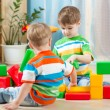 Kids playing in the room — Stock Photo #60584129