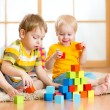 Kids playing in the room — Stock Photo #62089533