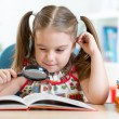 Child reads book — Stock Photo #64436093