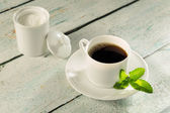 Herbal sweetener stevia — Stock Photo
