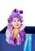 Clown closeup — Stock Photo