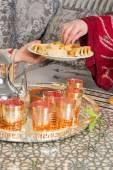 Cookies de Ramadã para os hóspedes — Fotografia Stock