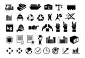 Set of logistic icons 2 — Stock Vector