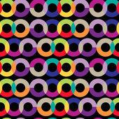 Sömlös geometriska fancy prydnad — Stockvektor