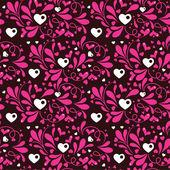 Bright romantic pattern — Stock Vector