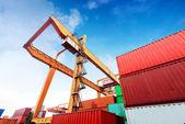 Large Container Terminal — ストック写真