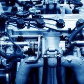 Automotive engine — Stock Photo