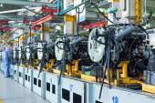 車組立工場 — ストック写真