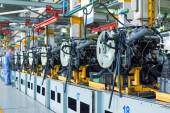 Car assembly plant — Stock Photo