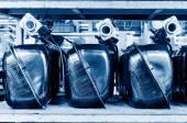 Car fuel tank — Stock Photo