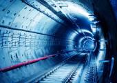 Subway Tunnel — Stock Photo