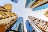Hong Kong's skyscrapers — Stock Photo