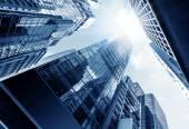 небоскребы гонконга — Стоковое фото