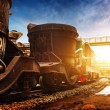 Steelworks train — Stock Photo #58942181