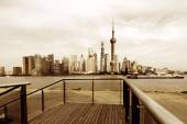 Shanghai skyline — Stock Photo