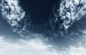Dark clouds — Stock Photo