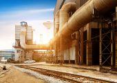 Steelworks — Stock Photo