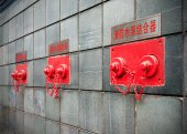 Fire pump adapter — Stock Photo