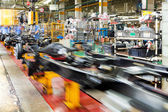 Pickup truck production line — Stock Photo