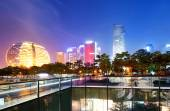 China Hangzhou Night — Stock Photo