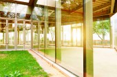 Glass House — Stock Photo