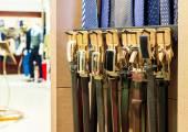 Belt Showcase — Stock Photo