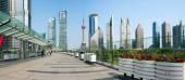 Skyscrapers in Shanghai, China — Stock Photo